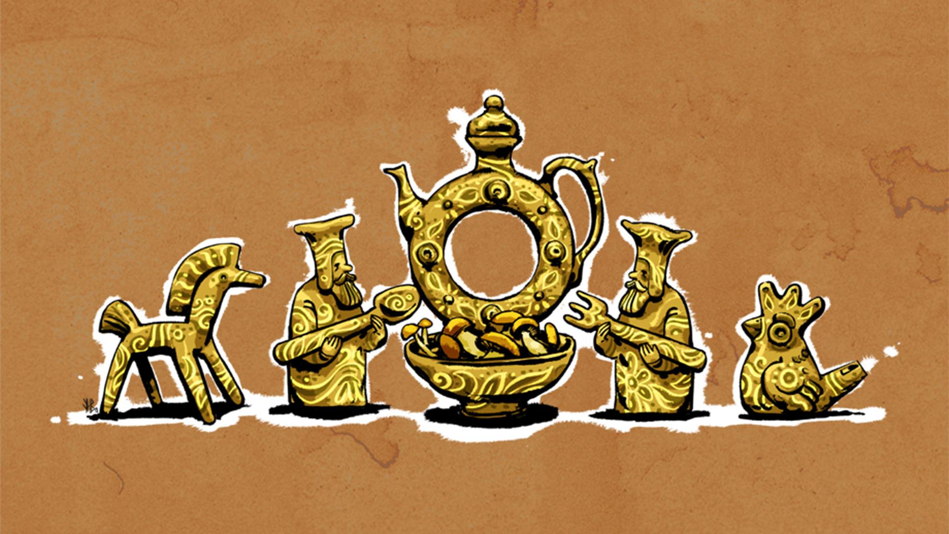 Гірчак, баран, сивулька... У світі народних назв грибів
