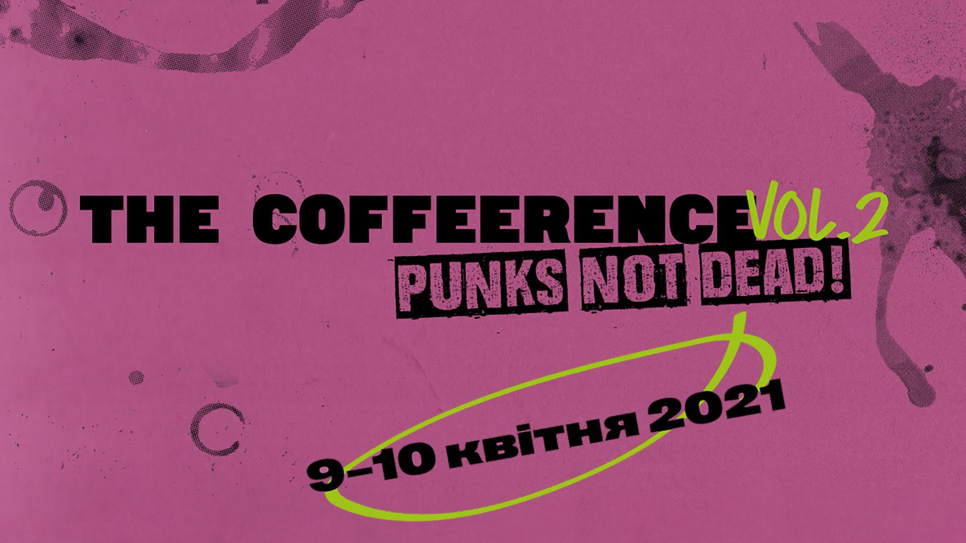 9-10.04 // У квітні є нагода зануритись у світ кави, долучившись до The Coffeerence vol.2