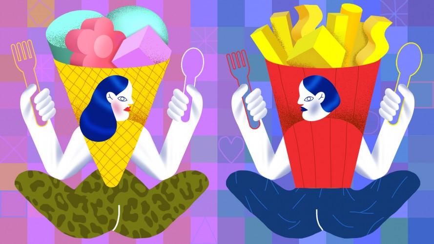 Чоловіча та жіноча їжа. Антропологічний погляд