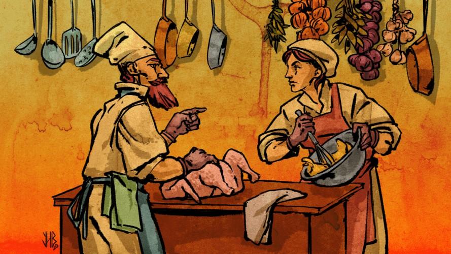 Соціальний простір кухні: жіночий і чоловічий виміри