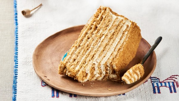 Торт «Медівник»